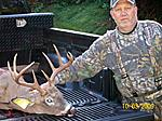 2009 CROSSBOW 9 PT  shot with a horton team realtree crossbow. With Rage 2 blade broadheads.