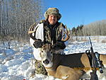 Date wrong on camera, deer was taken just outside Meadow Lake SK 11/18/13