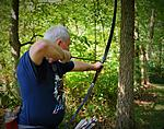 pa127  NFAA 5 day outdoor field championships in Pa. July 2015.  I shot in the Longbow Division, wood arrows required.
