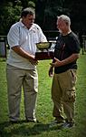nat2155.  Receiving my 1st place championship Longbow award after 5 days of competing & 112 arrows x 4 days & minimum of 28 on the last day.