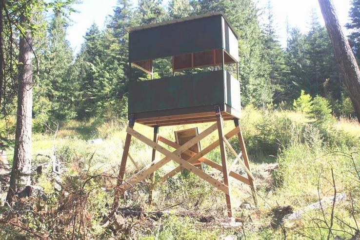 Let's see pics of your hunting blinds! - HuntingNet com Forums