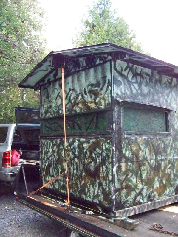 Homemade ground blinds - Page 2