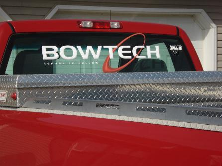 Hunting Stickers Page  HuntingNetcom Forums - Bowtech custom vinyl decals for trucks