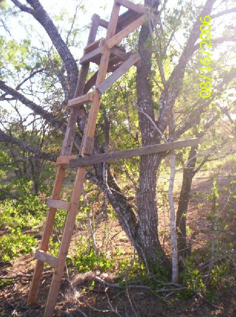Homemade Hunting Stands