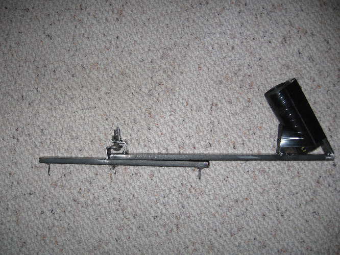Home made rod holder pics forums for Ice fishing rod holder