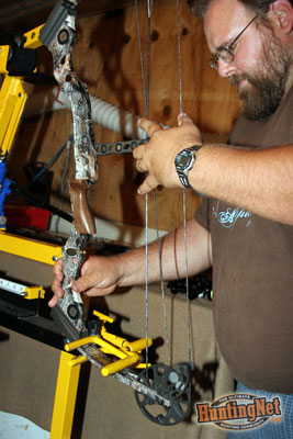 A bow vise is great to have when attaching new accessories