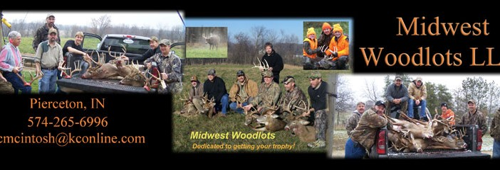 Midwest Woodlots – We will personally make sure you have a great hunt.