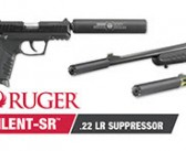 The All-New Ruger® Silent-SR™ Pairs with an Assortment of Ruger® Firearms