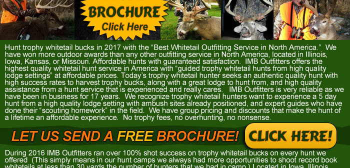 Trophy Whitetail Deer Hunts