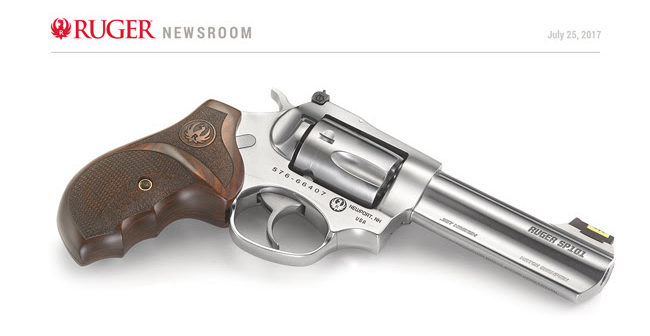 Introducing the Ruger SP101® Match Champion™